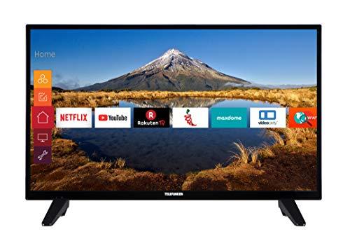 Telefunken XH32E411N 81 cm (32 Zoll) Fernseher (HD ready, Smart N TV, Triple Tuner) (Tv-netflix-ready)