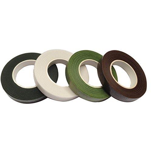 confezione-da-4-in-diversi-colori-con-stelo-nastro-verde-chiaro-verde-scuro-marrone-bianco-stelo-ham