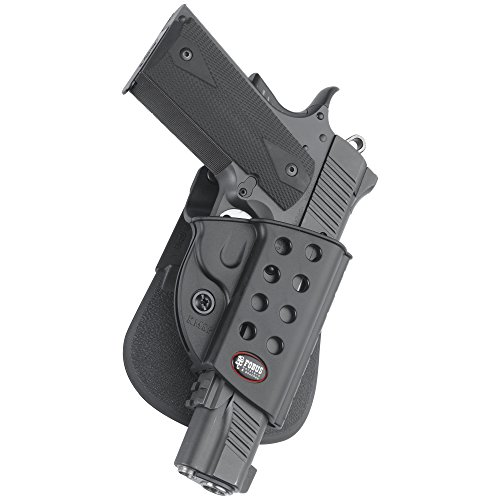 Fobus Standard Holster RH Paddle R19111911Style mit Dachreling Kimber TLE E/RL & Springfield (Standard-paddle-holster Fobus)