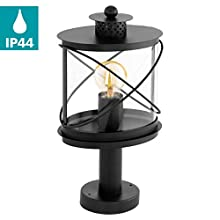 Eglo esterno attacco lampada lampada Piantana 94864 41 cm E27 LED hilburn IP44 NERO