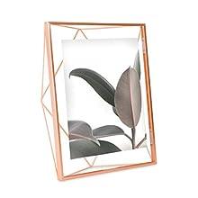 Umbra Prisma multi photo frame made of steel, copper