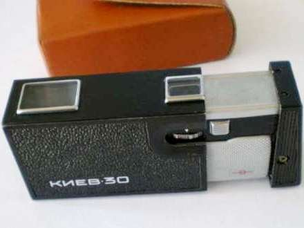 KIEW 30Vintage russischen sowjetischen klein Spy Foto Kamera 1980er mit Schaum (Zubehör 1980er)