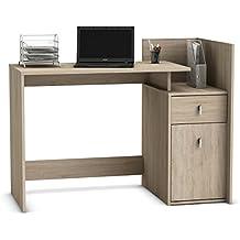 """Schreibtisch Arbeitstisch Bürotisch Computertisch Tisch """"Line"""" (Sonoma/Eiche)"""