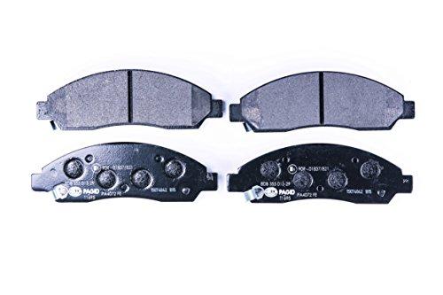 HELLA PAGID 8DB 355 013-291 Kit pastiglie freno, Freno a disco, Assale anteriore