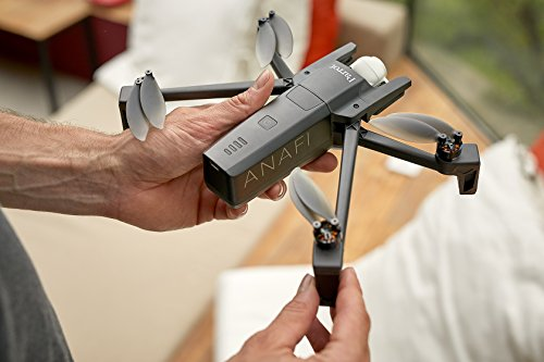 Parrot Anafi Base Drone con Videocamera HDR 4K con Gimbal con Inclinazione a 180°, Nero - 21