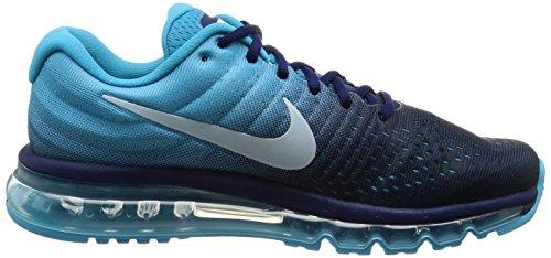 Nike Air Max 2017, Scarpe da Corsa Uomo Turchese (Binary Blue/Glacier Blue/Chlorine Blue)