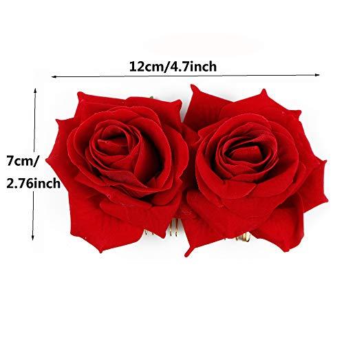 Zoom IMG-1 wbcbec 2 pack rose flower