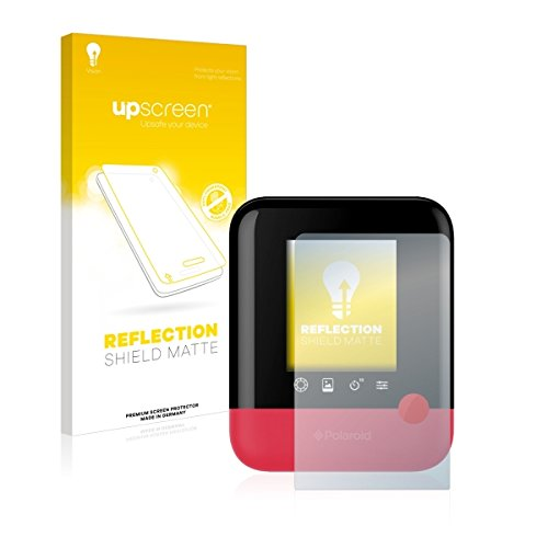 upscreen REFLECTION SHIELD MATTE Schutzfolie passgenau für Polaroid Pop, Multitouch optimiert, entspiegelnd, matt, Anti-Fingerprint