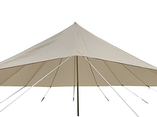 Safaricamping outdoor family camping waterproof bell tent with zipped groundsheet and Tent accessories