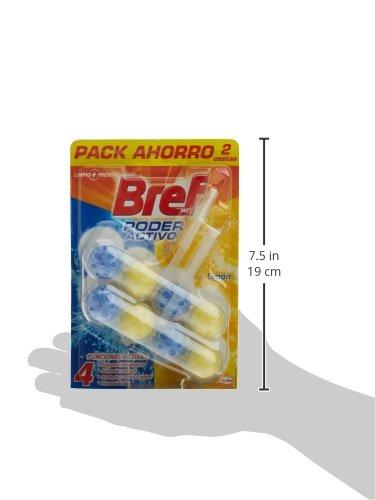 WC Bref pouvoir actif Panier-Citron Lot de 2 x 50 g-Total : 100 gr