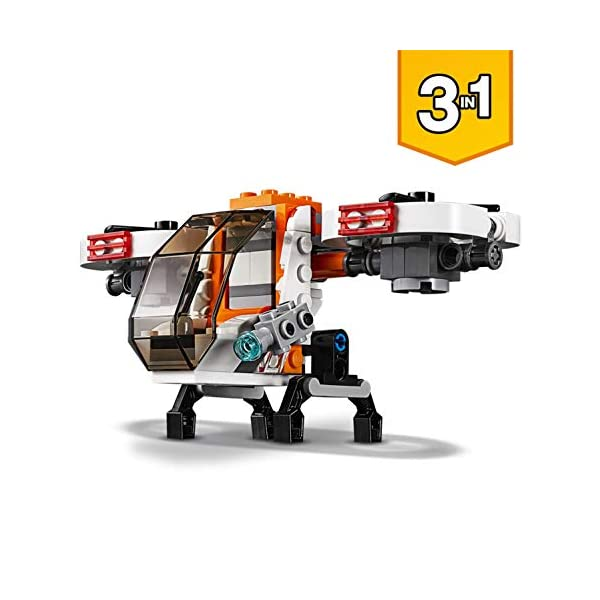 LEGO- Creator Drone Esploratore, Multicolore, 31071 3 spesavip