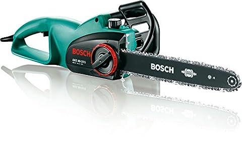Bosch DIY Kettensäge AKE 40-19 S, 80 ml Kettensägeöl, Karton (1900 W, 40 cm Schwertlänge, 4,5 kg)
