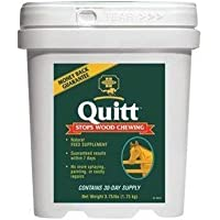Farnam Quitt - 1.7kg - highly palatable feed supplement provides esential vitamins, minerals and fatty acid. Satisfys the horses nutritional requirments and elimates the urge to chew wood. by William Hunter Equestrian