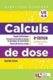 Calculs de dose - Exercices corrigés - UE 4.4