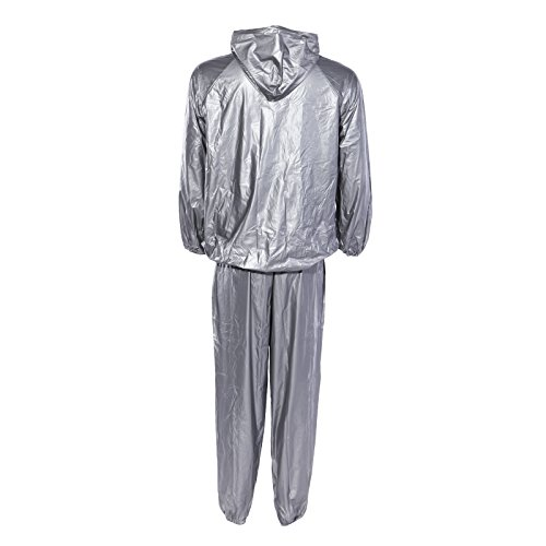Silver Heavy Duty – Sauna Suits
