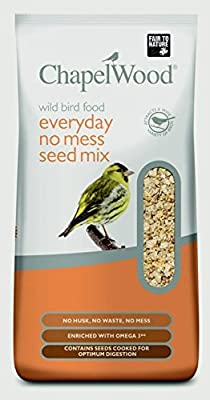 Chapelwood CPW3472 12.75 kg Everyday No Mess Bird Seed Mix - Mixed by Chapelwood