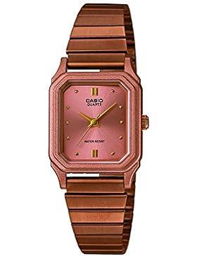 Casio Damen-Armbanduhr Collection Analog Quarz Edelstahl LQ-400R-5AEF