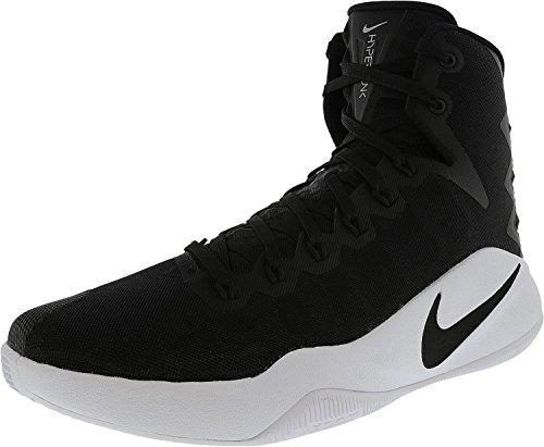 Nike Hyperdunk 2016 Tb, Scarpe da Basket Uomo Nero / Nero-Bianco)