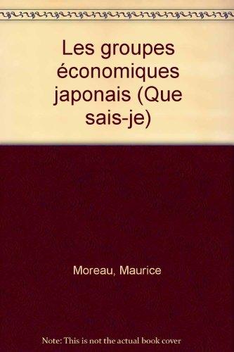 Les groupes économiques japonais