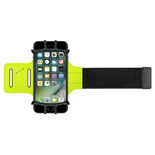 yoxi iphone7/6/6S Armband Sport Sportarmband Handy Halterung 180 ° Rotation Arm Band für 8,9 cm-15,2 cm Handy iPhone Halterung für Gym Jogging Walking Radfahren Wandern (Spiderman Anzug Black)