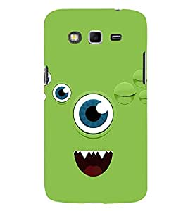 Animated Eye 3D Hard Polycarbonate Designer Back Case Cover for Samsung Galaxy Grand Neo :: Samsung Galaxy Grand Neo i9060