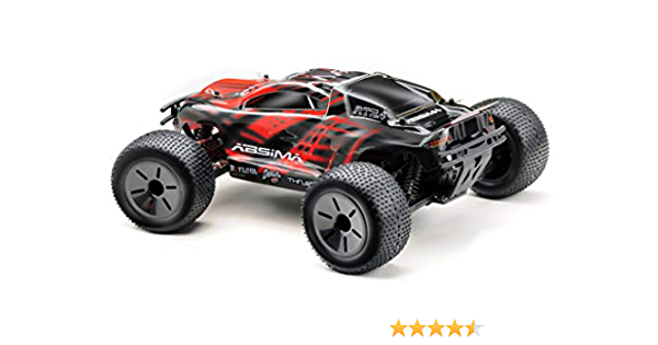Absima Hot Shot Absima 1 10 Rc Modellauto At3 4 Truggy Mit Brushed Elektroantrieb Und Allradantrieb Als Bausatz Rot Grau Schwarz Spielzeug
