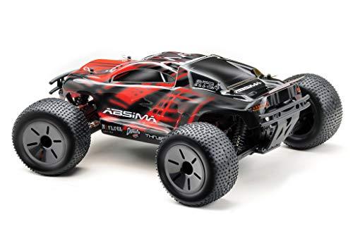 Absima Hot Shot Absima 1:10 RC Modellauto AT3.4 Truggy mit Brushed Elektroantrieb und Allradantrieb als Bausatz, Rot, Grau, Schwarz*