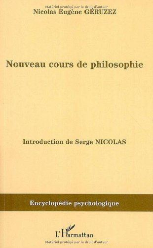 Nouveau cours de philosophie