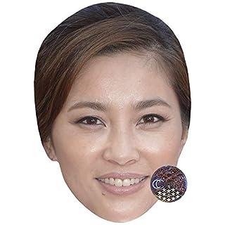 Asaka Seto (Smile) Celebrity Mask, Card Face and Fancy Dress Mask