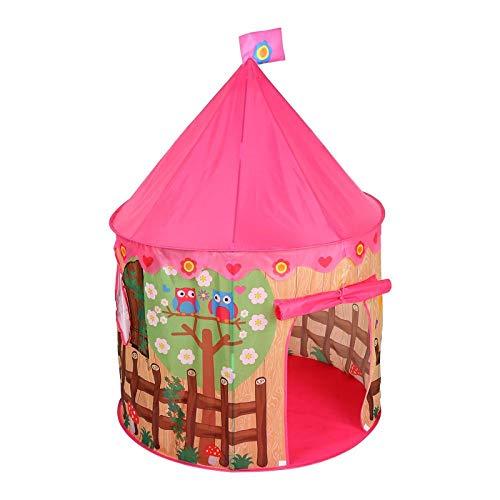 a Prinzessin Spielzelt Schloss-Schauspielhaus Fun Zelt Für Kinder Baby Mädchen Kleinkind Kinder Faltbares Moskitonetz Für Den Innenbereich ()