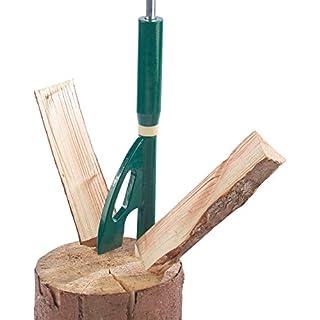AGT Handholzspalter: Manueller Hand-Holzspalter für Weiches Holz mit bis zu 30 cm Länge (Handspalter Holz)
