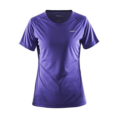 Craft Damen Prime Sport T-Shirt, kurzärmlig Weiß