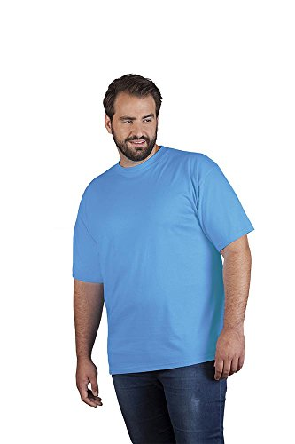 Premium T-Shirt Plus Size Herren, XXXL, Türkis