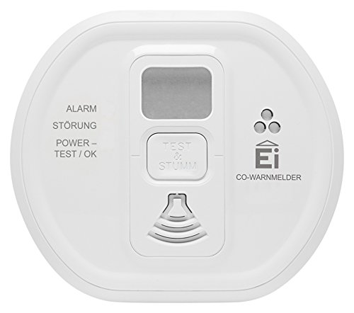 Ei Electronics Ei208D 10-Jahres-Kohlenmonoxidwarnmelder, 1 Stück - 9