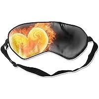 Schlafmaske mit Herzmotiv, Unisex, Augenschutz preisvergleich bei billige-tabletten.eu