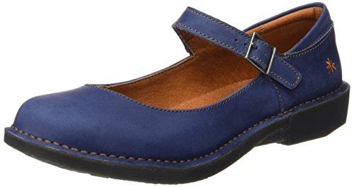 Art Ladies 0929 Olio Montagne Chiuso-ballerine Blu (blu)