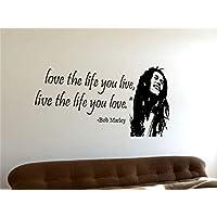 Adesivi Murali Bob Marley.Amazon It Bob Marley Adesivi E Murali Da Parete Pitture E