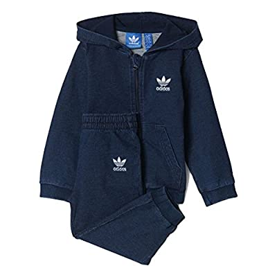 adidas Hoody - I Denim blue size: 99-104 cm tall - 3 to 4 years