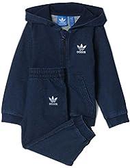 Adidas - Chándal de bebé denim hfl