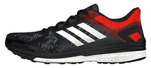adidas Supernova Sequence 9 M, Chaussures de running homme, Noir (Core Black/Ftwr White/Bold Orange), 42 EU