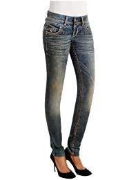 Cipo & Baxx Damen Jeans Hose