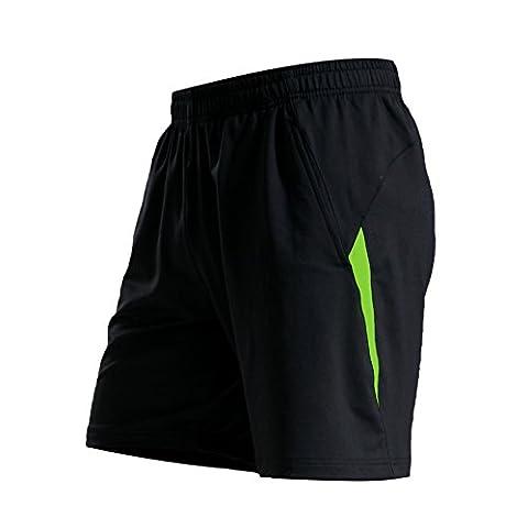 Remise En Forme Hommes Shorts Respirante Pour Le Football, Running Sports Actifs Gym XL