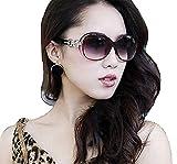 PALAY Women's Eyewear Sunglasses Round Circle Cat Eye (Brown)