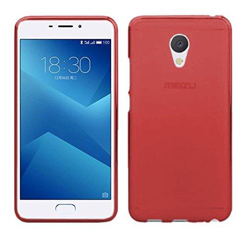 tbocr-rot-gel-tpu-hulle-fur-meizu-m5-note-meilan-note-5-55-zoll-ultradunn-flexibel-silikonhulle