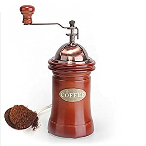 Hand Coffee Grinder Manual Coffee Grinder Dust Chamber Extra Large Capacity