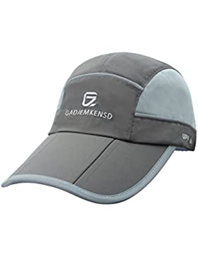 GADIEMKENSD Quick Drying Breathable Running Outdoor Hat Cap