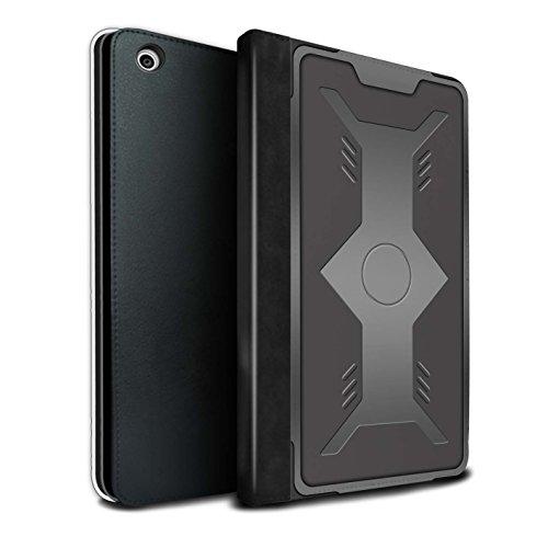 Stuff4® PU-Leder Hülle/Case/Brieftasche für Apple iPad Mini 1/2/3 Tablet/Schild Muster/Rüstung Kollektion