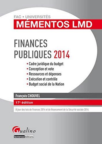 Finances publiques 2014
