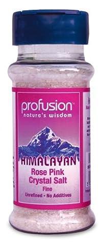 Fülle Himalaya rosa Salz-fine ~ Tabelle Schüttler 140g