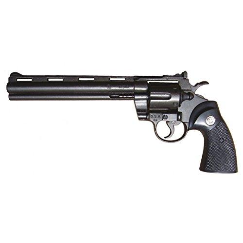 Deko Waffe Revolver Python Kal .357 Magnum, ultralang -